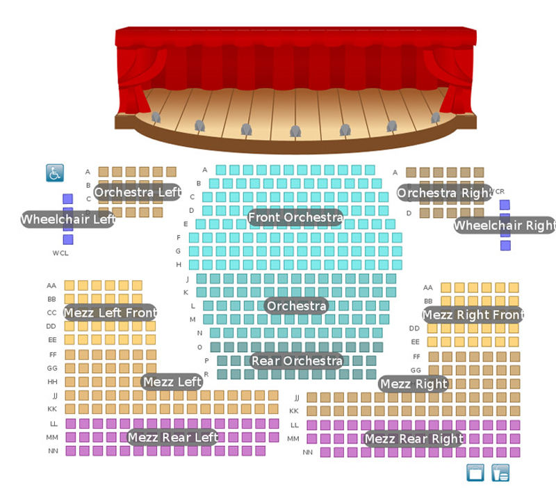 Penn's Landing Playhouse Seating Chart